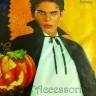 Accessori: Mantello Dracula adulto bavero nero