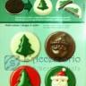 Dolci Stampi cioccolato 8 soggetti natale