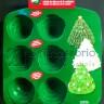 Dolci: Stampo Albero in silicone 8 cavità