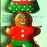 Dolci: Tagliapasta Gingerbread Lui-Lei-casa (3pz)