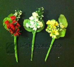 Pick Margherite e roselline con perline