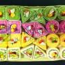 Display Cestino in rete con 24 scatoline