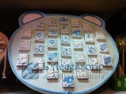 Display Orsetto in carta riso con 30 scatoline