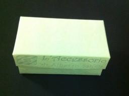 Scatolina rettangolare 7x4x3 sorgente bianco