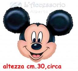 Palloncino in mylar mini shape Topolino