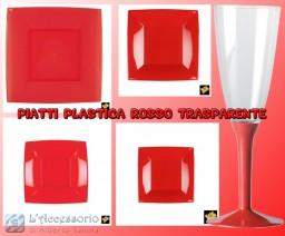 Coordinato Piatti in plastica rigidi