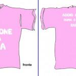 maglietta addio al nubilato per la testimone