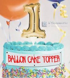 Balloon cake Topper