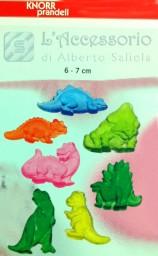 Stampo in plastica f.to 20×30 dinosauri