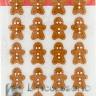 Gingerbread mini in zucchero 24pz